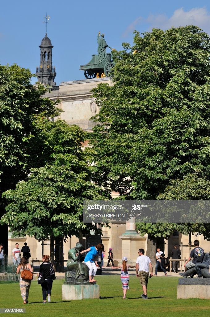 jardin du caroussel du louvre 19 juin 2015 paris 1er arrondissement picture id
