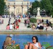 Jardin Du Louvre Inspirant Women Relaxing at Jardin Des Tuileries Stock