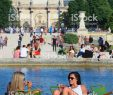 Jardin Du Louvre Inspirant Women Relaxing at Jardin Des Tuileries Stock