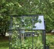 Jardin En Pente solution Nouveau Serre De Jardin Double Pente 4m2 Qube 66