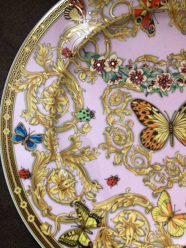 rosenthal versace plate le jardin des papillons 26bf29ec 7f76 4bf4 aa0a ab324fd71c83