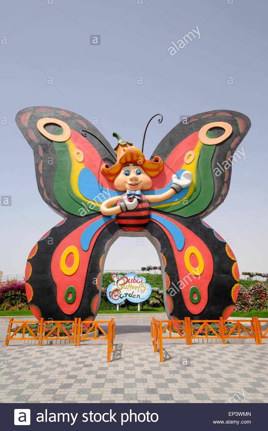 entree au jardin des papillons de dubai en emirats arabes unis ep3wmn