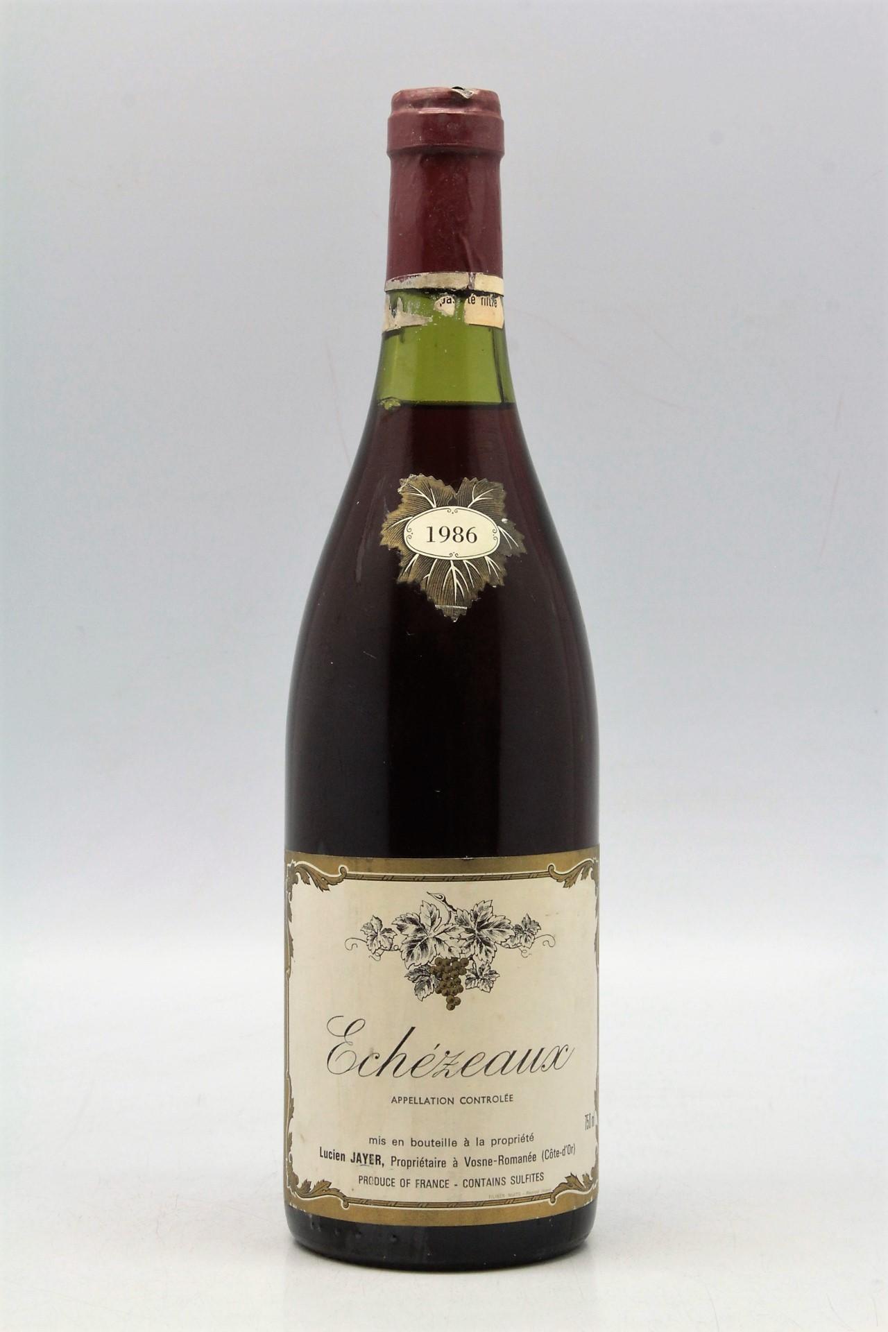 Le Jardin Des Provinces Pessac Charmant Lucien Jayer Echezeaux 1986 Vins & Millesimes