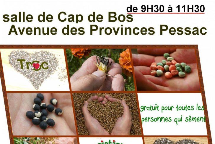 Le Jardin Des Provinces Pessac Charmant Troc Graines Salle De Cap De Bos Pessac