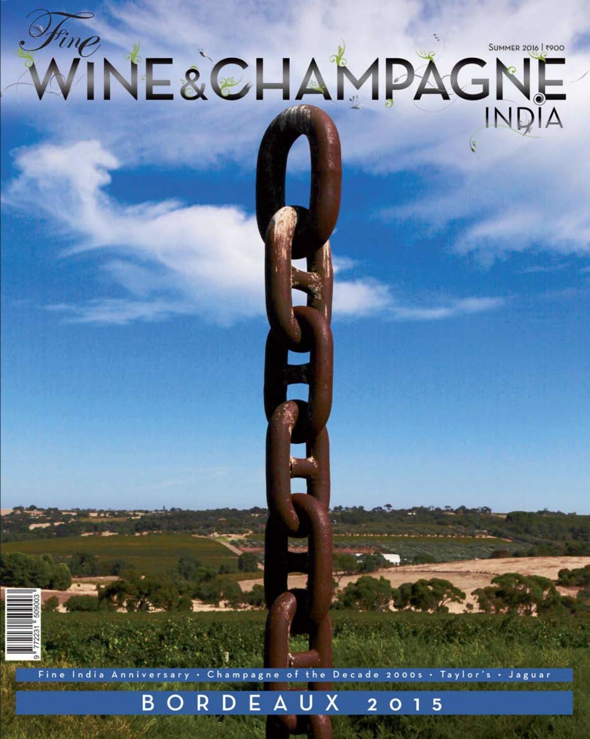 Le Jardin Des Provinces Pessac Élégant Fine Wine & Champagne India 162 by Fine Publishing India issuu