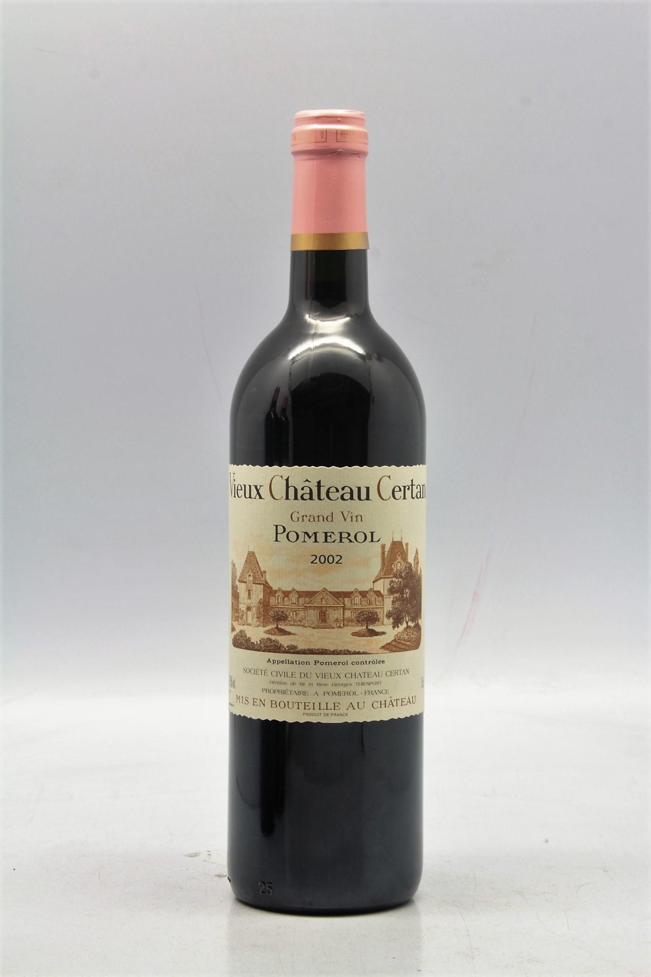 Le Jardin Des Provinces Pessac Frais Vieux Ch¢teau Certan 2002 Vins & Millesimes