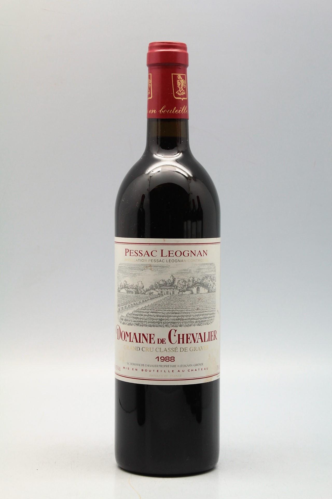 Le Jardin Des Provinces Pessac Génial Chevalier 1988 Vins & Millesimes