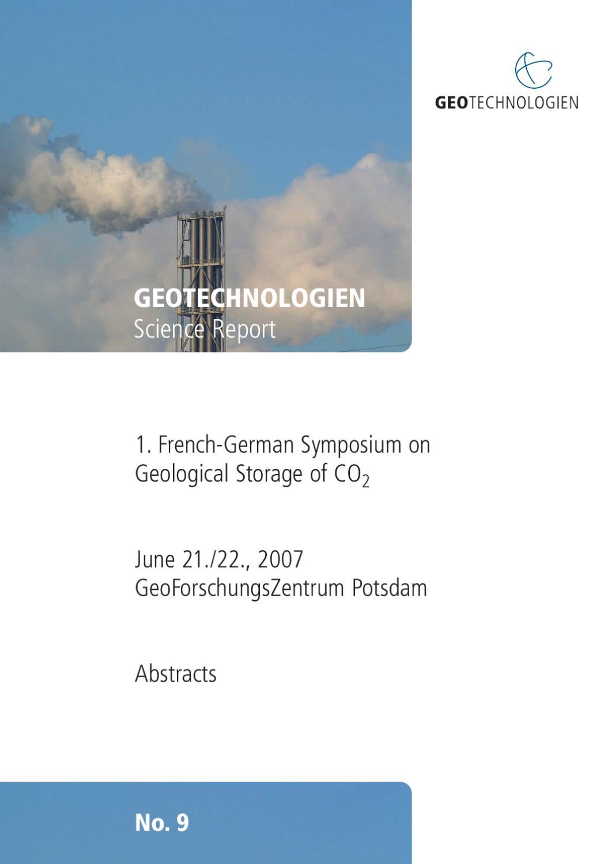 Le Jardin Des Provinces Pessac Inspirant Geotechnologien Science Report No 9 by Geotechnologien issuu