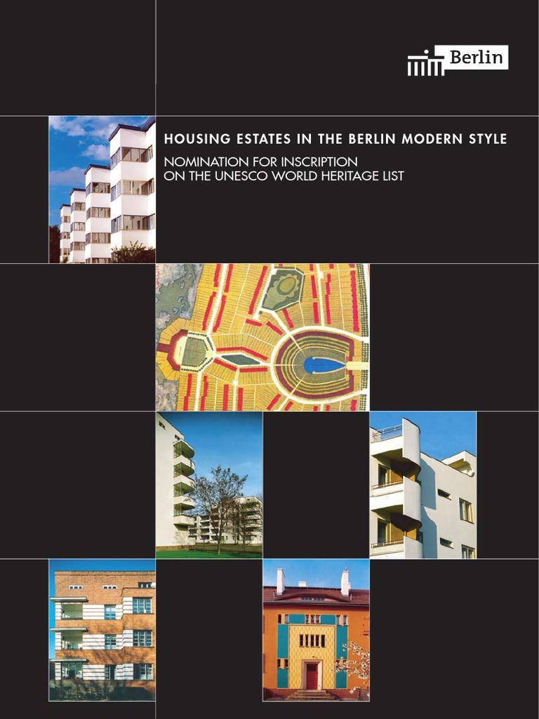 Le Jardin Des Provinces Pessac Nouveau Housing Estates In the Berlin Modern Style Nomination for