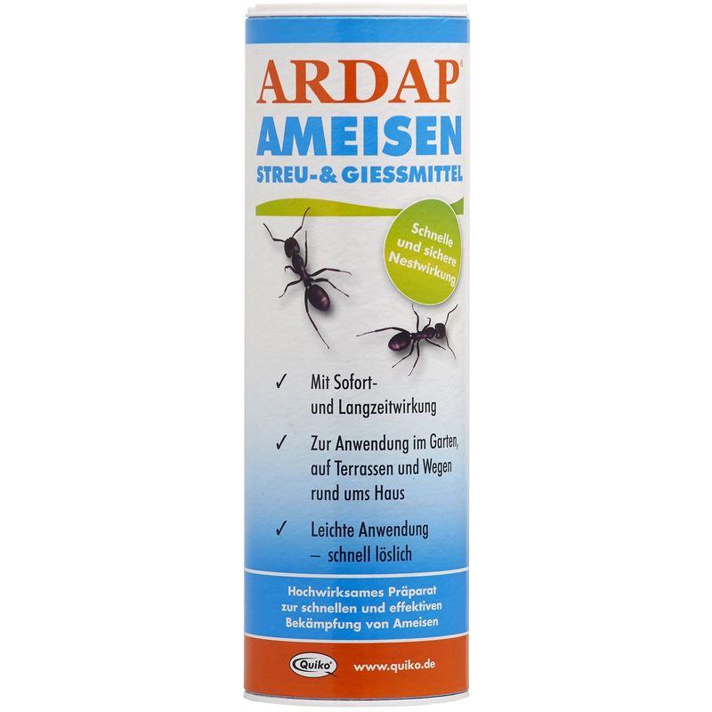 quiko lutte contre fourmis ardap fourmis litiere et gies mittel 250 g blanc