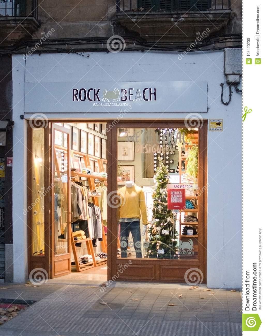 Trh Jardin Del Mar Best Of Rock Beach Boutique Carrer Union Editorial Image Image